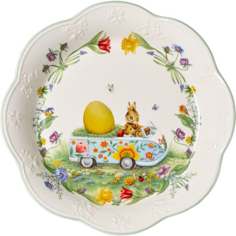 V&B Spring Fantasy süteményes tál nagy, Tojásbusz
