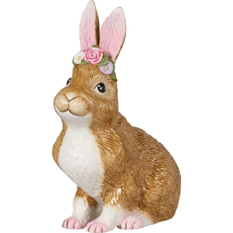 V&B Easter Bunnies nyuszi ülő 14x9x19cm