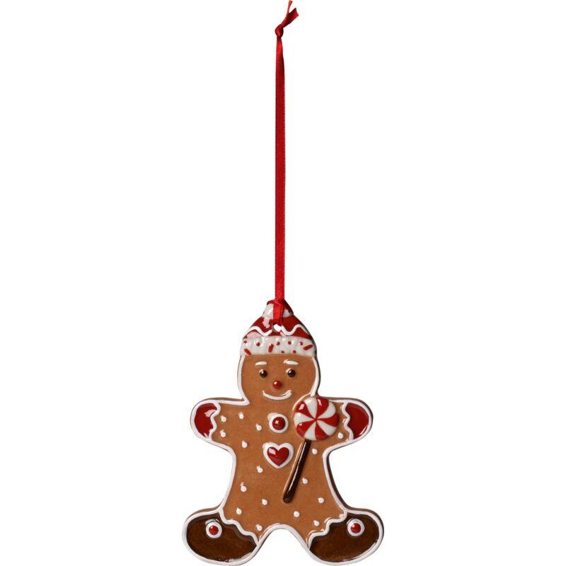 V&B Winter Bakery Decoration karácsonyfadísz, Mézeskalács figura