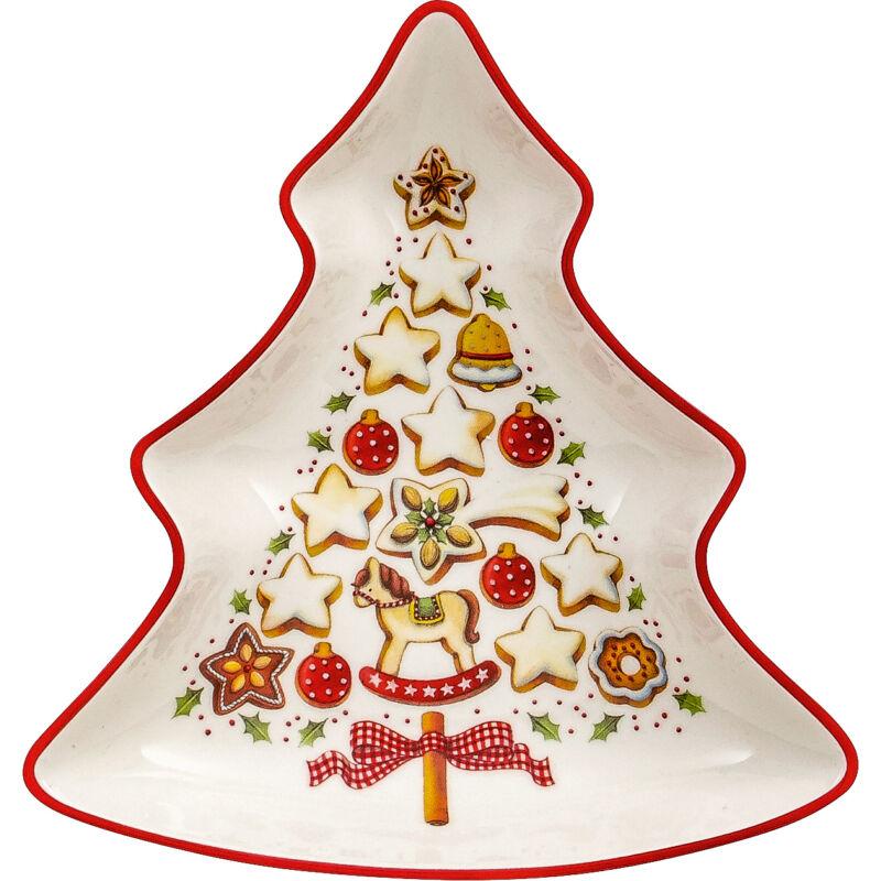V&B Winter Bakery Delight kínálótál karácsonyfa formájú kicsi