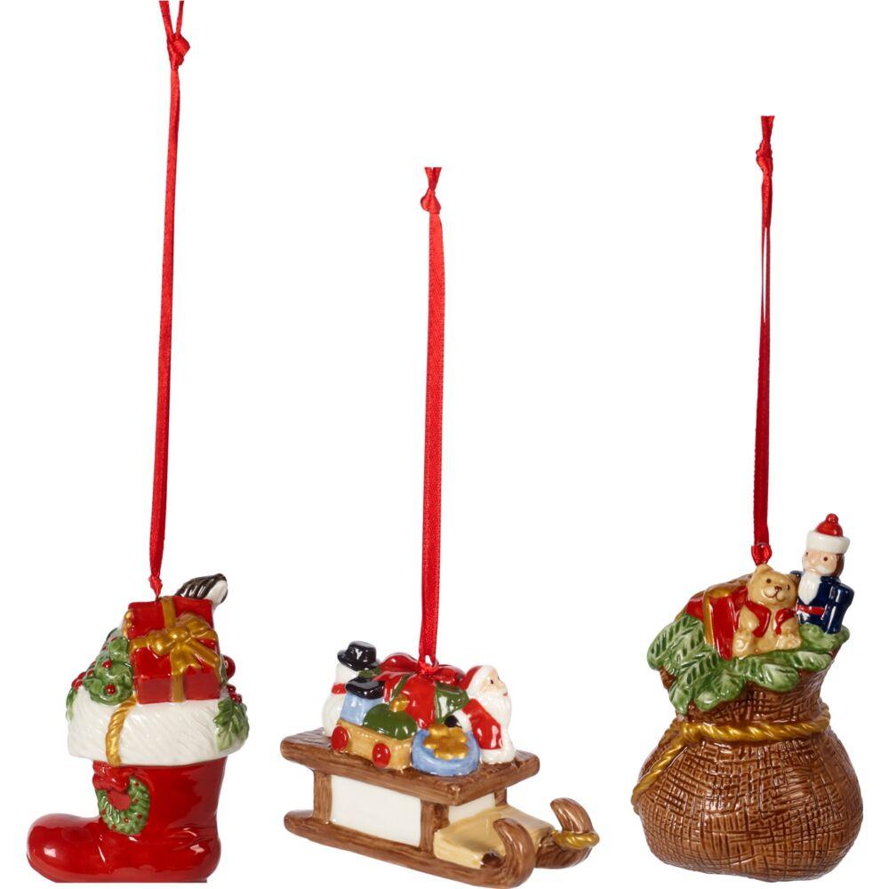 V&B Nostalgic Ornaments karácsonyfadísz szett 3részes, Ajándékok