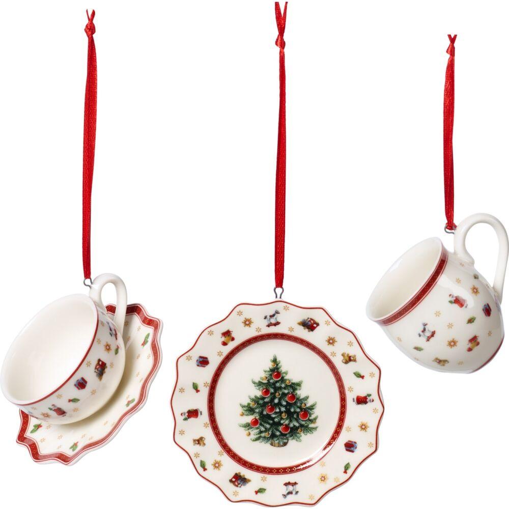 V&B Toy's Delight Decoration karácsonyfadísz szett 3részes, Étkészlet