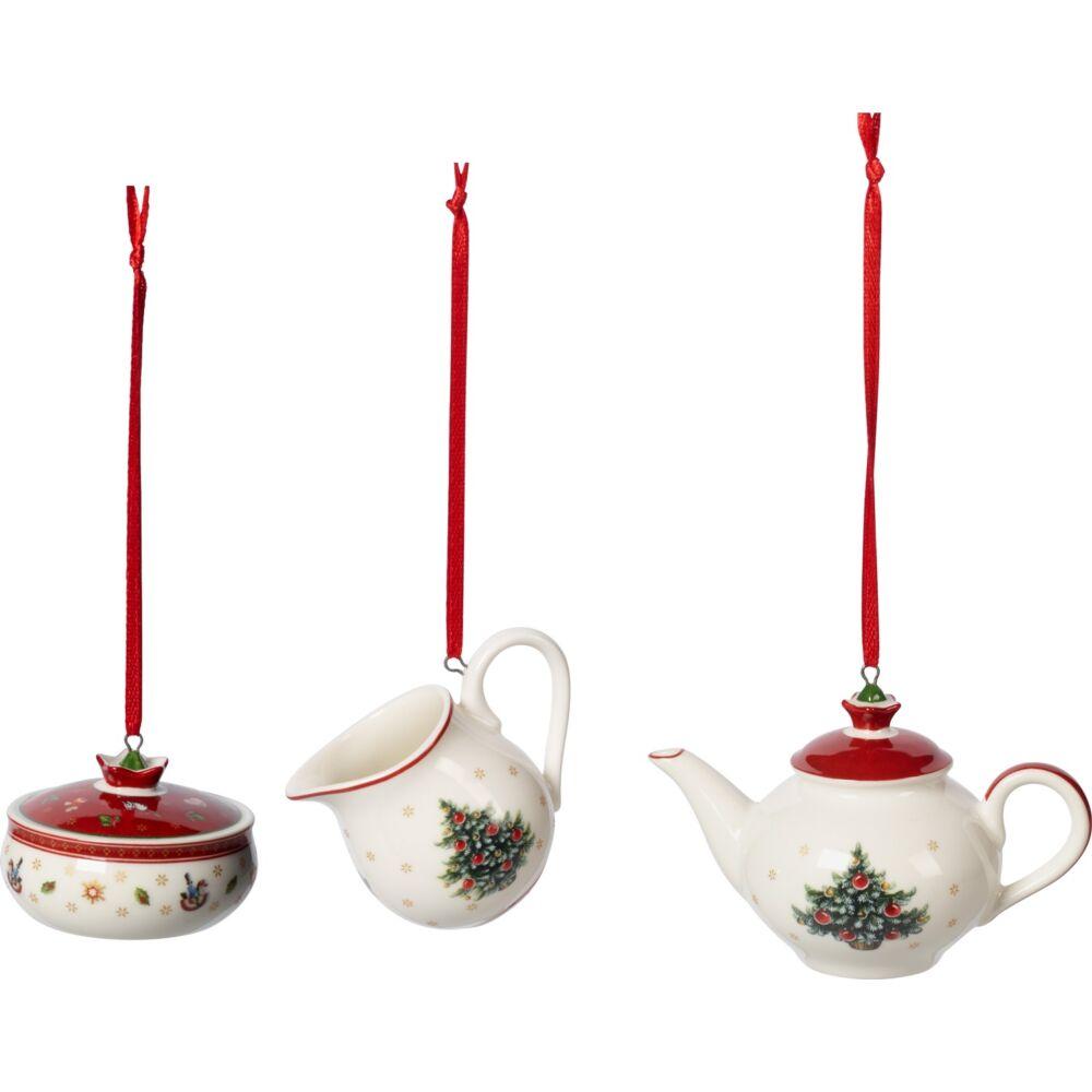 V&B Toy's Delight Decoration karácsonyfadísz szett 3részes, Kávés készlet