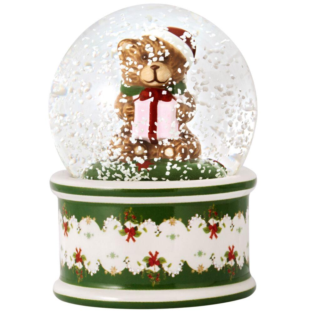 V&B Christmas Toys hógömb kicsi, Maci