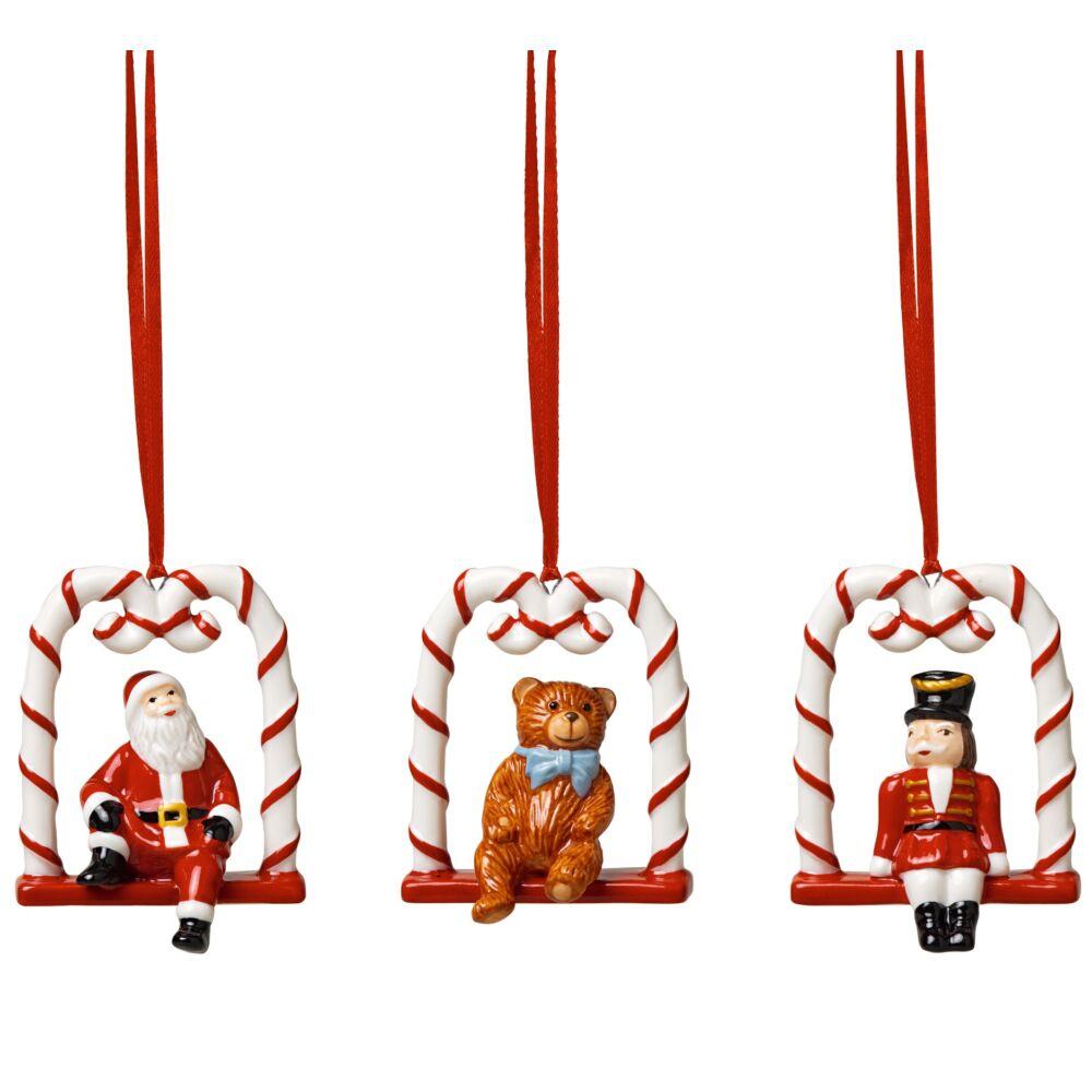 V&B Nostalgic Ornaments karácsonyfadísz szett 3részes, Hintázás