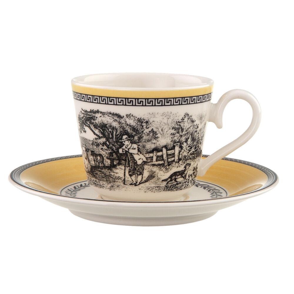 V&B Audun Ferme eszpresszós csésze alátéttel