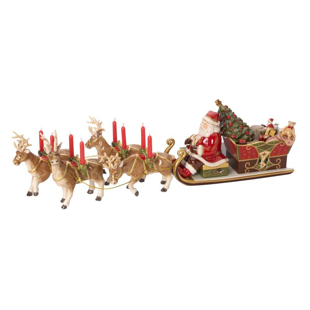 V&B Christmas Toys Memory Télapó szánkóval és szarvasokkal