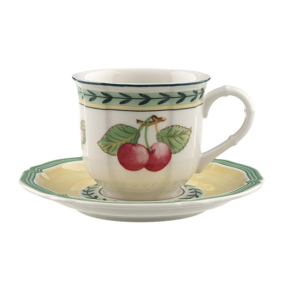 V&B French Garden Fleurence eszpresszós csésze alátéttel