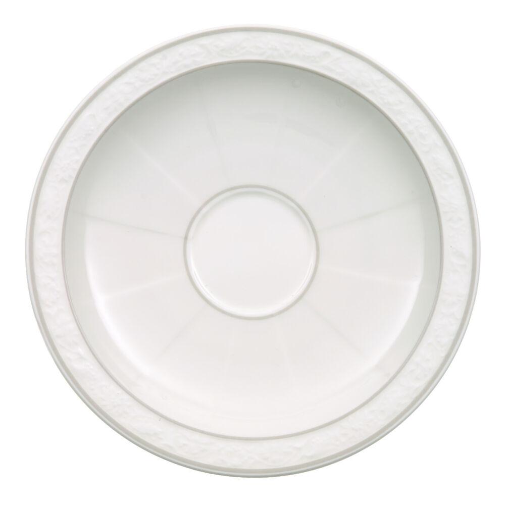 V&B Gray Pearl alátét eszpresszós csészéhez 13cm