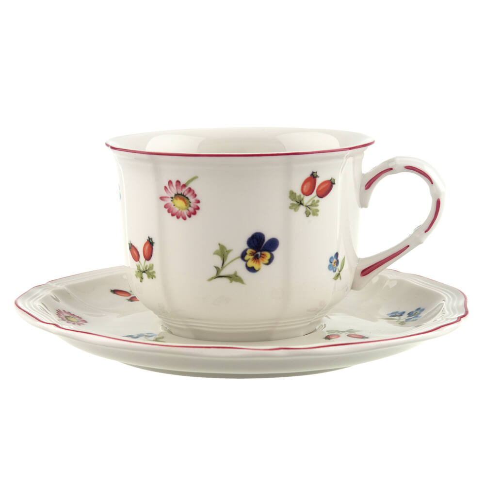 V&B Petite Fleur reggeliző csésze alátéttel