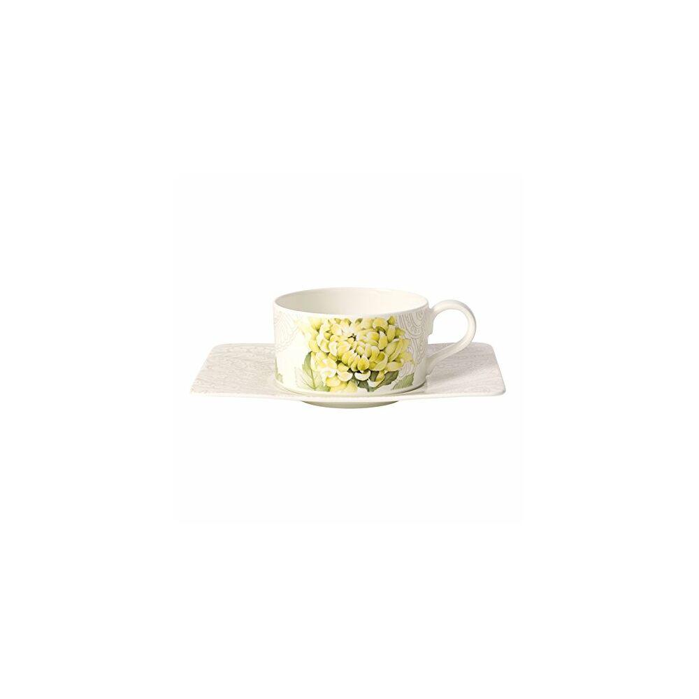V&B Quinsai Garden teás csésze alátéttel