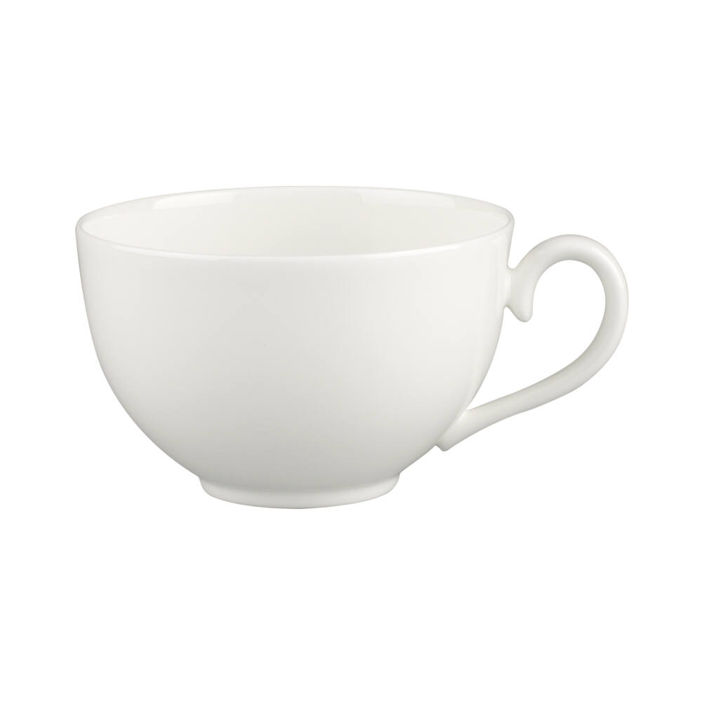 V&B White Pearl reggeliző csésze 0,40l