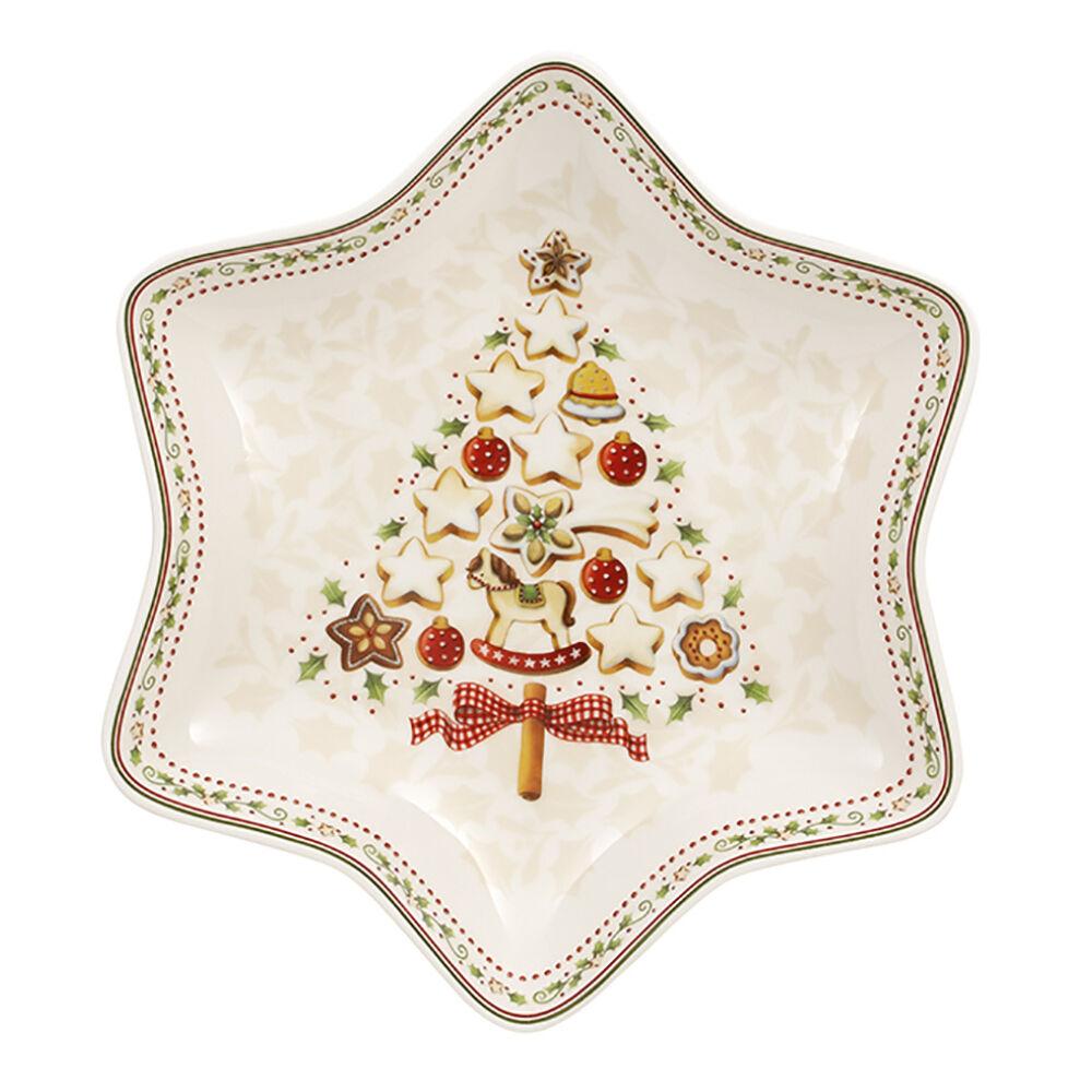 V&B Winter Bakery Delight csillagtál közepes karácsonyfa