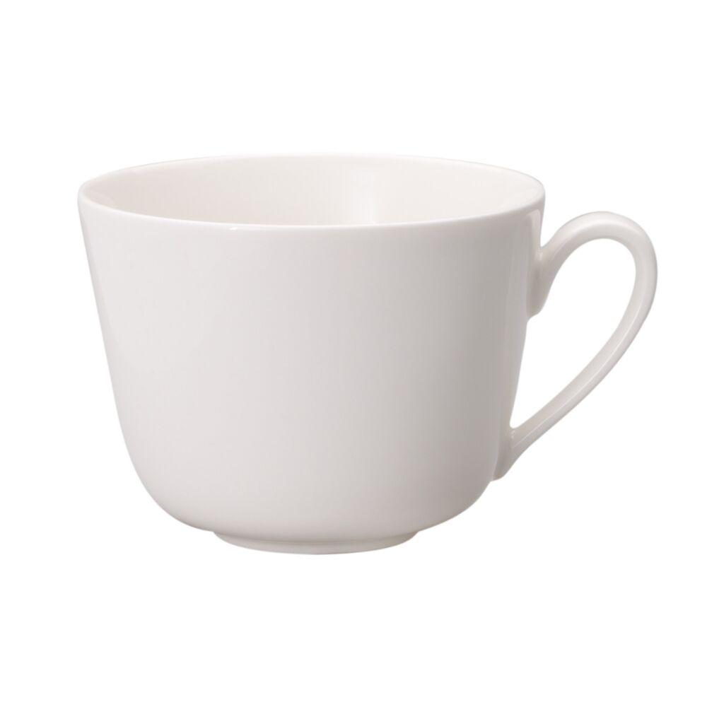 V&B Twist White kávés-teás csésze 0,20l