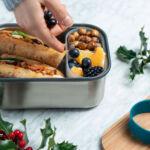 BB Sandwich Box szendvicstartó doboz oliva nagy