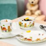 V&B New Hungry as a Bear gyermek étkészlet 7részes