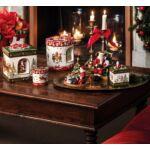 V&B Christmas Toys zenélő doboz, Télapó fotelben