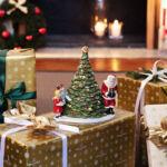 V&B Christmas Toys mécsestartó nagy, Ajándékozás