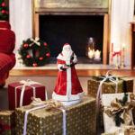 V&B Christmas Toys Memory zenélő doboz, Forgó Télapó