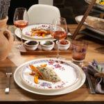 V&B Artesano Provencal Lavender étkészlet 6személyes 12részes