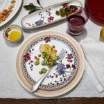 V&B Artesano Provencal Lavender étkészlet 6személyes 18részes