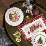 V&B Toy's Fantasy süteményes tál, Gyerekek kívánságlistával