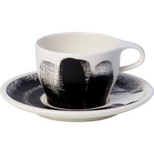 V&B Coffee Passion Awake cappuccinós csésze alátéttel