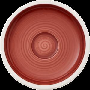 V&B Manufacture Rouge alátét eszpresszós csészéhez 12cm
